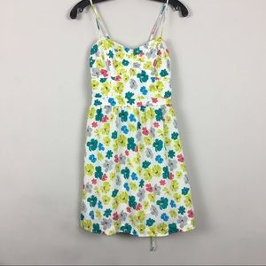 AE Floral Dress 8 NWOT mini spaghetti straps